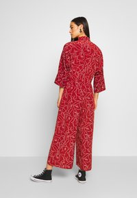 Monki - HARRIOT - Jumpsuit - red medium - 2