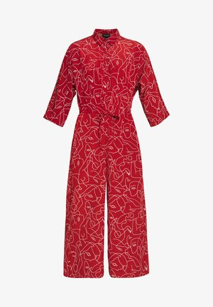 HARRIOT - Overall / Jumpsuit - red medium