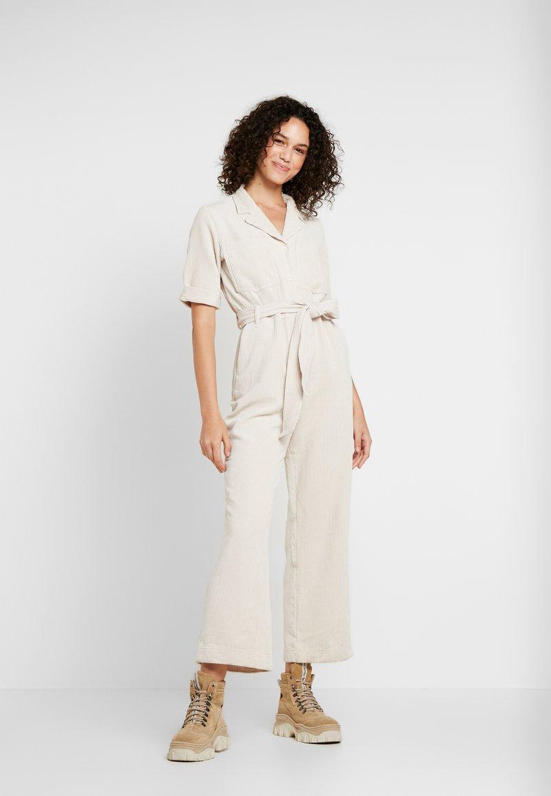 Monki - JAMIE BOILER - Jumpsuit - off white