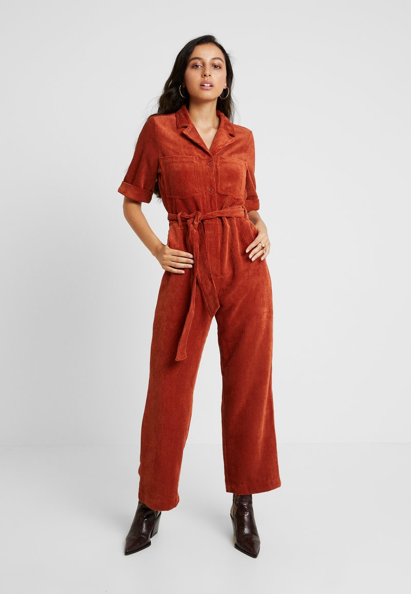 Monki - JAMIE BOILER - Jumpsuit - rust