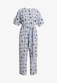Monki - ANTONIA - Tuta jumpsuit - blue dusty light - 5