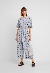 Monki - ANTONIA - Tuta jumpsuit - blue dusty light - 1