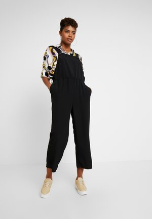 DUNGAREE - Jumpsuit - black dark