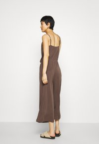 Monki - LINA - Overal - brown dark - 2