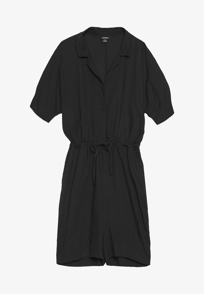 Monki - LOULOU PLAYSUIT - Overal - black dark