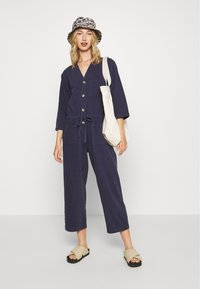 Monki - SAMIRA - Tuta jumpsuit - blue medium dusty - 1