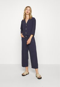 Monki - SAMIRA - Tuta jumpsuit - blue medium dusty - 0