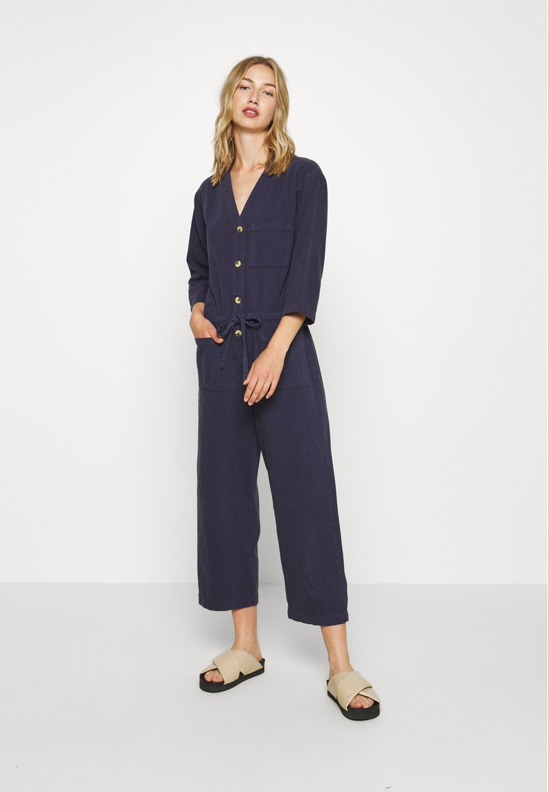 Monki - SAMIRA - Tuta jumpsuit - blue medium dusty