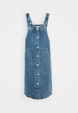 MARIA DRESS - Denim dress - blue medium dusty blue