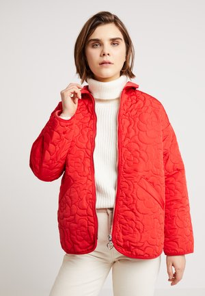 NEMI QUILTED JACKET - Lett jakke - red