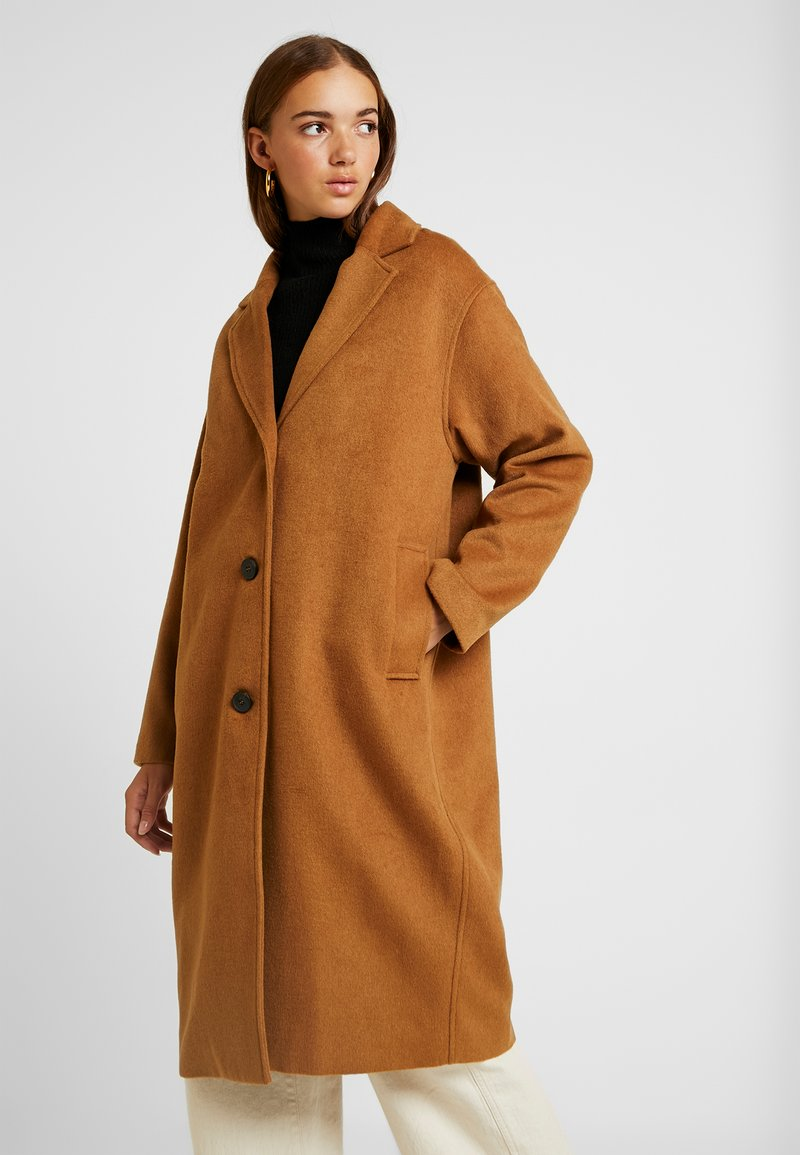 Monki - JULIA COAT - Kåpe / frakk - brown