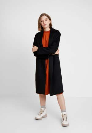 JULIA COAT - Kåpe / frakk - black