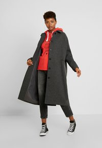 Monki - ALMA COAT - Manteau classique - dark grey melange - 1
