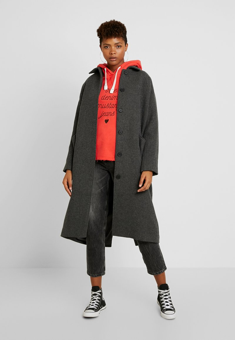 Monki - ALMA COAT - Manteau classique - dark grey melange