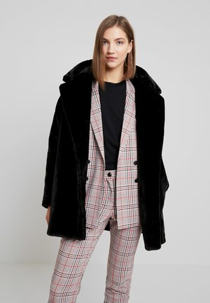 BODIL JACKET - Zimní kabát - black dark