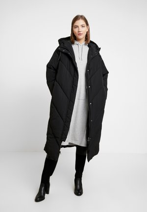 DUNA COAT - Winterjas - black dark