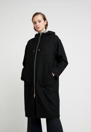 LEMON HOODED COAT - Kåpe / frakk - black dark