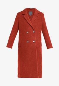 Monki - LOU COAT - Zimní kabát - dark red - 4