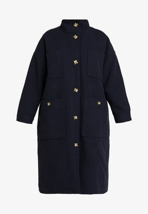 WILLY COAT - Villakangastakki - navy