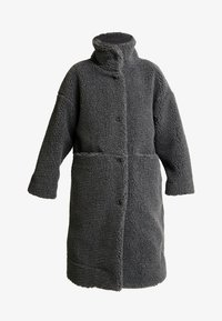 Monki - SASHI COAT - Mantel - grey melange - 4