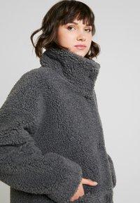 Monki - SASHI COAT - Classic coat - grey melange - 5