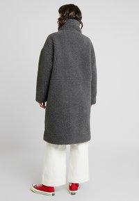 Monki - SASHI COAT - Classic coat - grey melange - 2