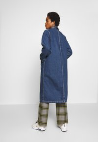 Monki - DIANA COAT - Classic coat - blue medium dusty - 2