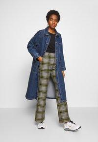 Monki - DIANA COAT - Classic coat - blue medium dusty - 1