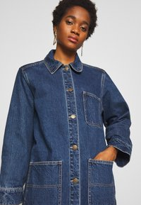 Monki - DIANA COAT - Classic coat - blue medium dusty - 3