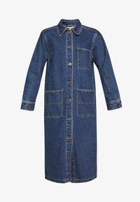 Monki - DIANA COAT - Classic coat - blue medium dusty - 4