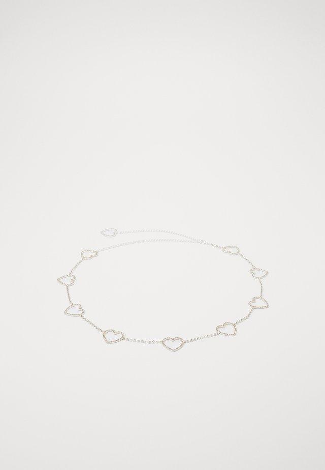 CIARA BELT - Taillengürtel - silver-coloured