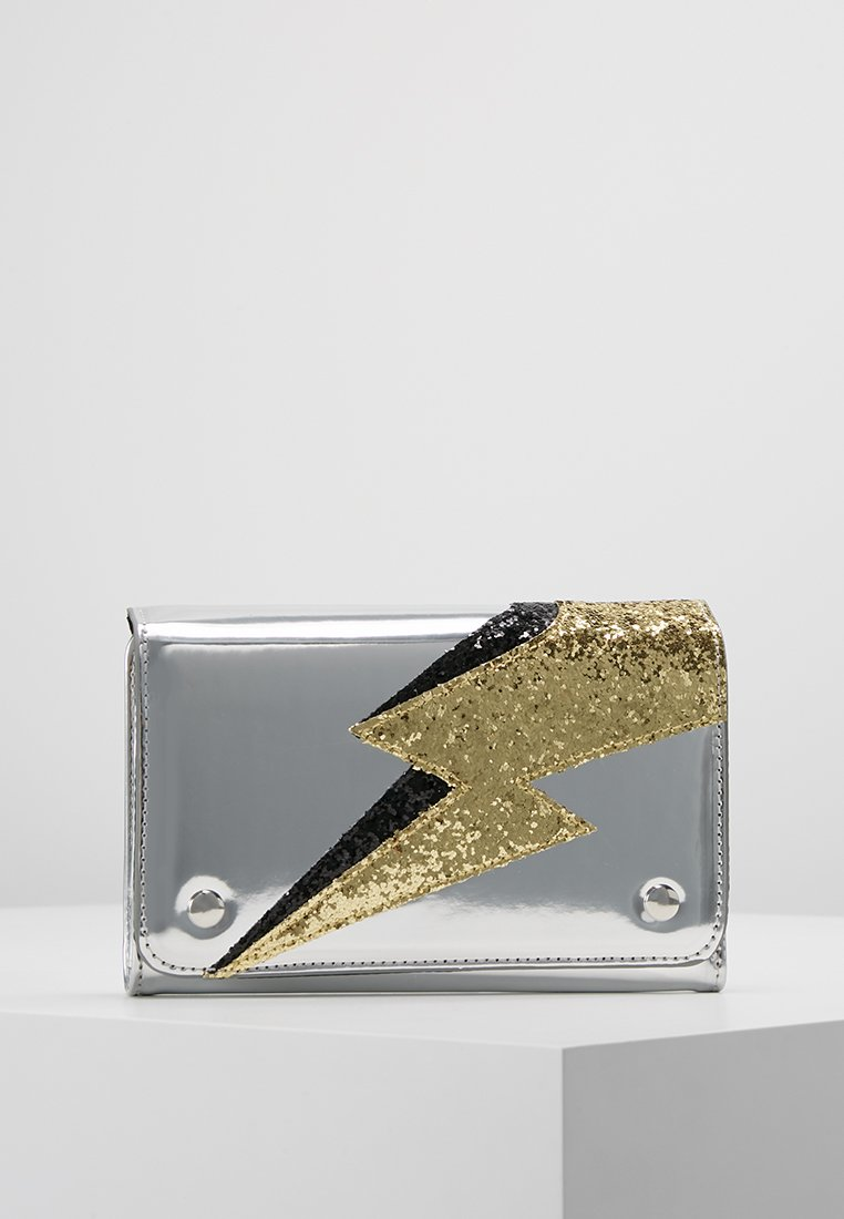 Monki - ELIZA WALLET - Monedero - black/gold