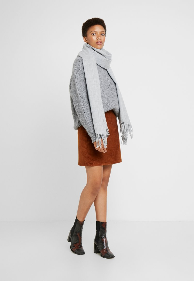 Monki - FLO SCARF - Sjal - light grey