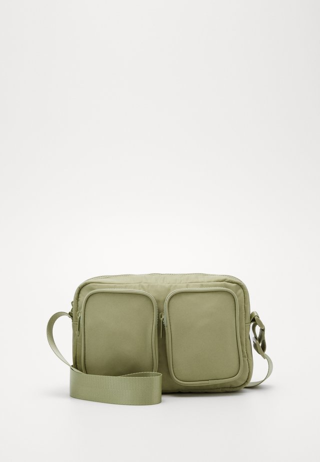 ALINA BAG - Olkalaukku - green dusty light