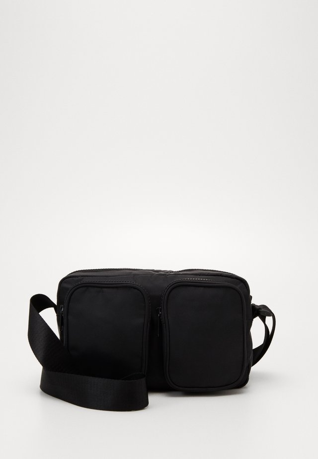 ALINA BAG - Olkalaukku - black dark