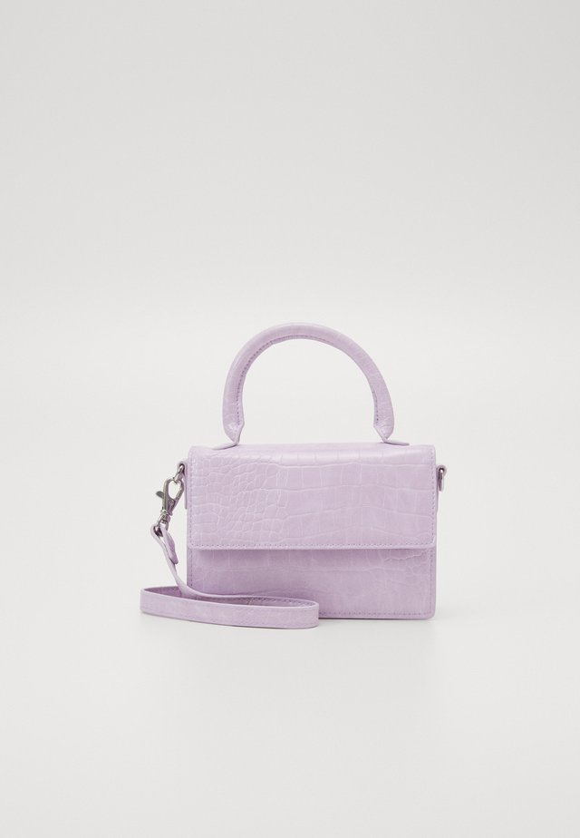 SHIRIN BAG - Schoudertas - lilac croco