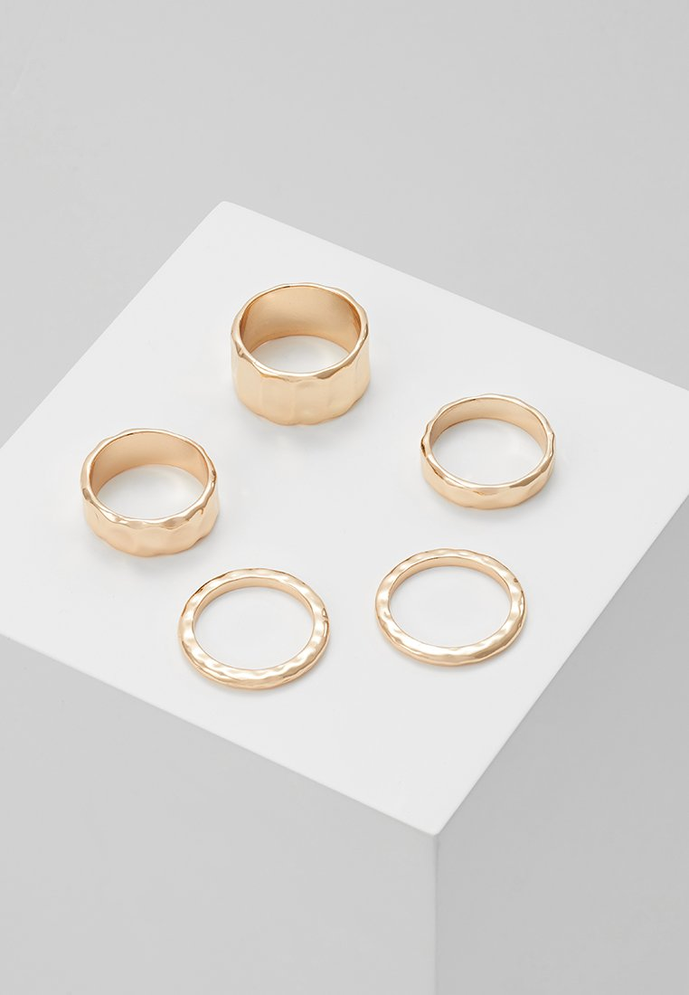 Monki - 5 PACK NINAH - Ringe - gold-coloured