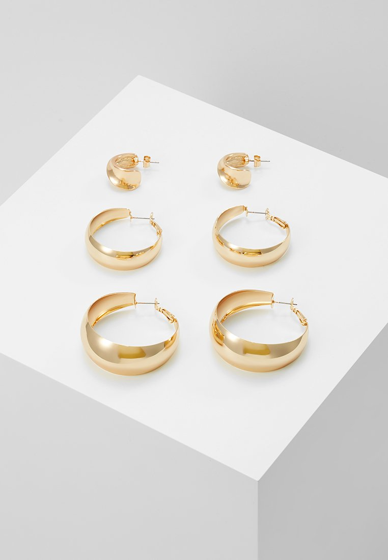 Monki - LAILA EARRINGS SET - Earrings - gold-coloured