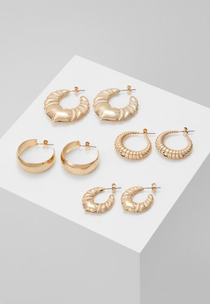 SELENA HOOPS - Earrings - gold-coloured