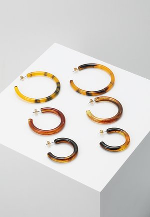 INGA HOOPS 3 PACK - Ohrringe - multi