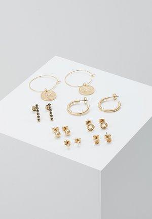 OLGA EARRINGS 7 PACK - Korvakorut - gold-coloured