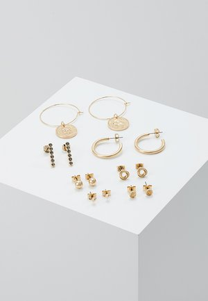 OLGA EARRINGS 7 PACK - Earrings - gold-coloured