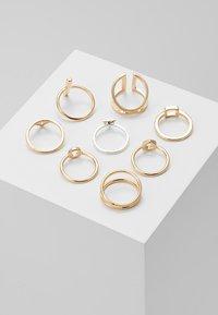 Monki - LUKA 8 PACK - Ringe - gold-coloured - 2