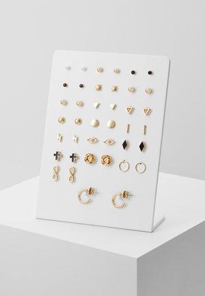ROSALIE EARRINGS 20 PACK - Earrings - gold-coloured
