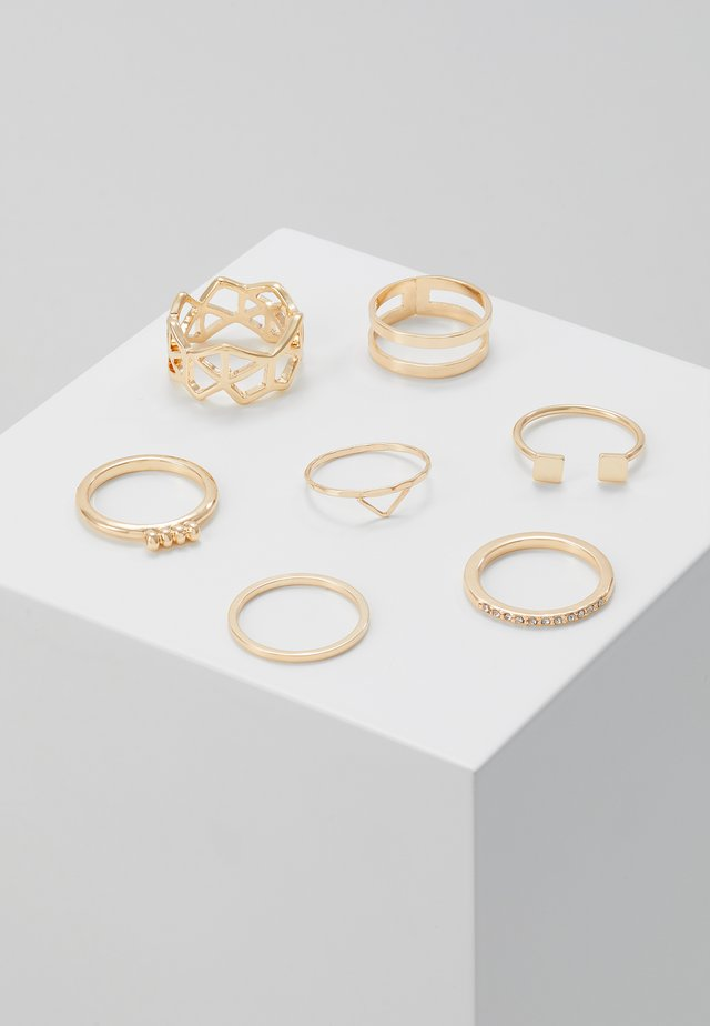 MEADOW 7 PACK - Ring - gold-coloured
