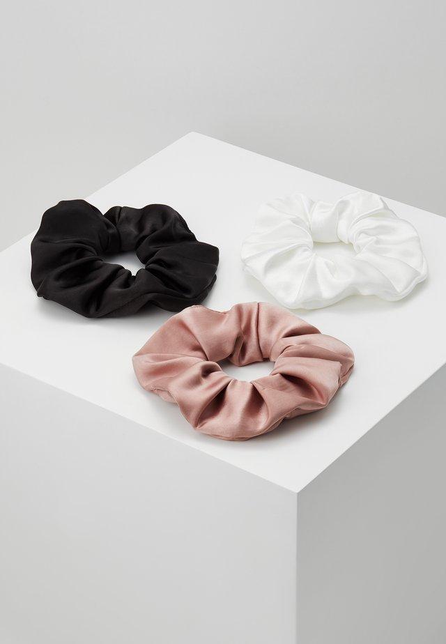 KELLY SCRUNCHIE 3 PACK - Příslušenství kvlasovému stylingu - pink/black/white