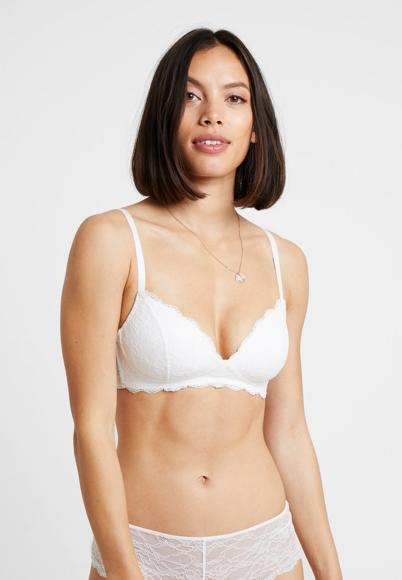 Monki - HANNE BRA - Triangel-BH - white