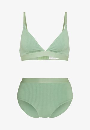 UNDERWEAR SET - Slip - sage green