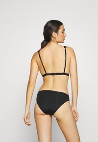 Monki - LUCIANA - Triangel BH - black dark - 2