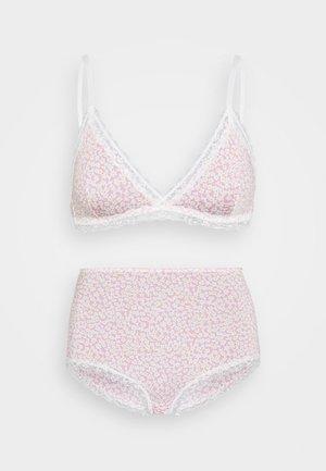 LINNEA BRA TINY DAISY PRINT SET - Underbukse - pink
